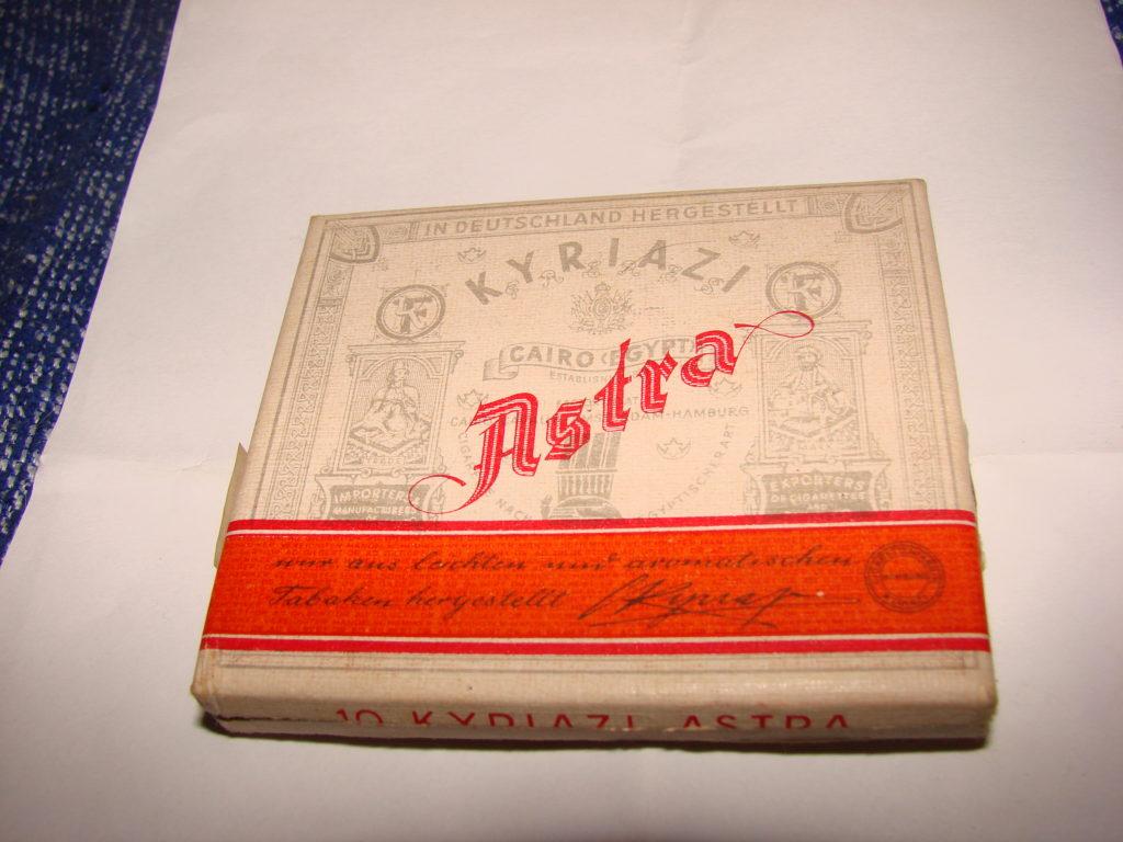 Papierosy Astra - najpopularniejsze w niemieckich okopach